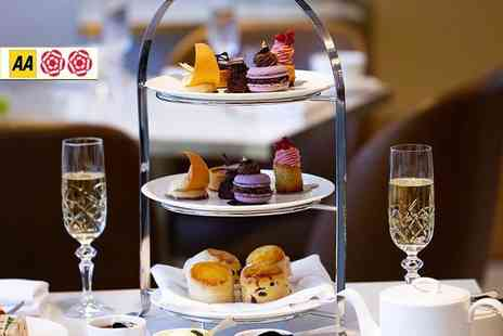 Royal Lancaster London - Afternoon tea for two with a bottle of Prosecco to share - Save 60%