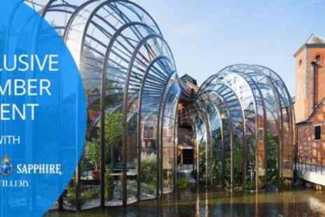 Bombay Sapphire Distillery - A 2 hour hosted experience Exclusive Travelzoo event - Save 0%