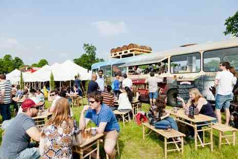 Foodies Festival - Ticket including a glass of bubbly on arrival, goody bag, priority entry and more  - Save 39%