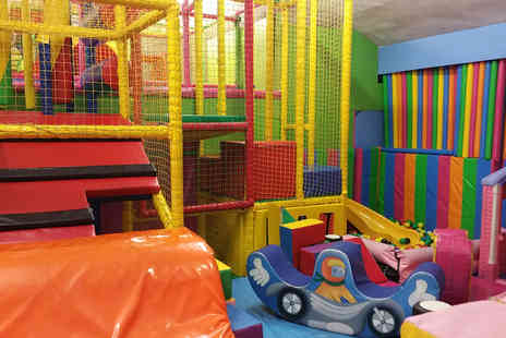 Clown Around Club - Two hours of trampoline and soft play for one child with a soft drink - Save 58%