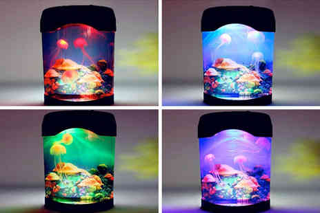 Groundlevel - Colour changing jellyfish lamp - Save 68%