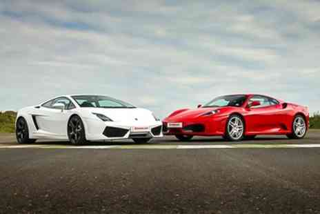 Drive Me - Sports Car or Supercar Experience in One or Two Cars on Up to Six Laps - Save 41%