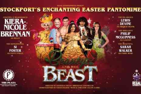 Beauty & The Beast - One general admission ticket Easter Pantomime from 18th To 19th April - Save 49%