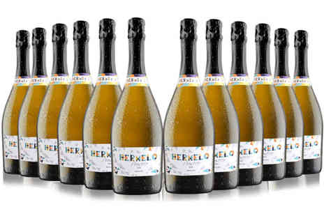 San Jamon - 12 bottles of Hermelo Prosecco DOC Extra Dry - Save 52%