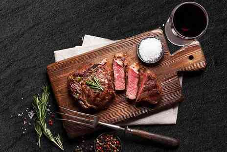 DoubleTree by Hilton - Two course gourmet dinner with a glass of wine each - Save 29%