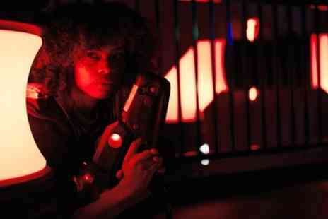 Laser Quest Stoke - Two Games of Laser Tag for Two or Four - Save 46%
