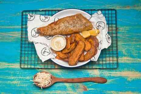 Hook Camden Town - Small or Large Fish and Chips with Drink - Save 50%