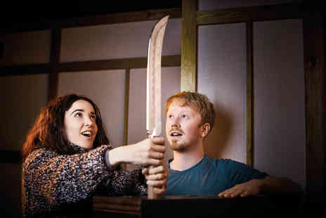 Virgin Experience Days - The Fourth Samurai Escape Game for Two with Escape Hunt - Save 0%