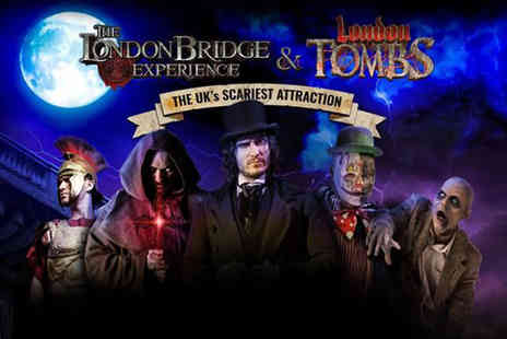 The London Bridge Experience - Child ticket to The London Bridge Experience & London Tombs with a cookie dough and ice cream dessert - Save 39%