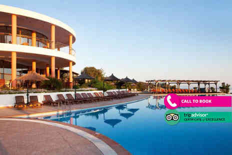 Book It Now Holidays - Seven nights half board Halkidiki holiday with return flights - Save 52%