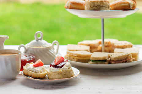 Lifton Hall Hotel - Afternoon tea for two with a glass of Prosecco each - Save 54%
