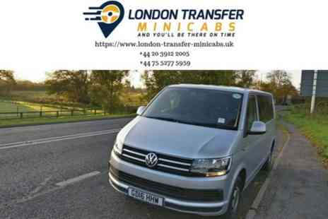 London Transfer Minicabs - Gatwick Airport to London Private Minibus Transfer - Save 0%
