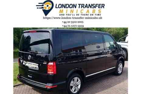 London Transfer Minicabs - London to Gatwick Airport Private Minibus Transfer - Save 0%