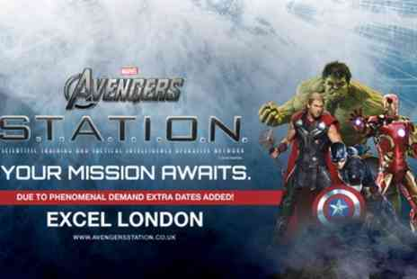 Alchemy Promotions - Marvel Avengers S.T.A.T.I.O.N. Interactive Exhibit from 1st To 28th April - Save 49%