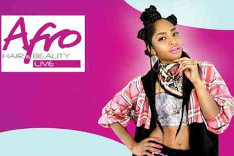 Afro Hair and Beauty Live - Two tickets to Afro Hair and Beauty Live on 26th To 27th May - Save 38%