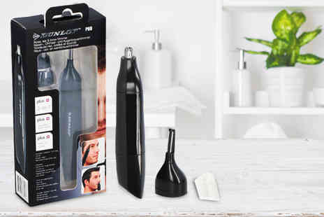 Pricebuster UK - Dunlop Pro Three in One ear, nose and brow trimmer - Save 69%