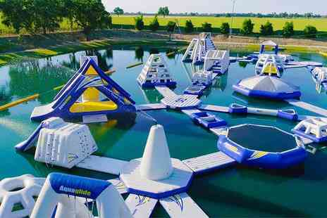 Thorpe Lakes - 60 minute waterpark entry for one person including wetsuit hire - Save 25%