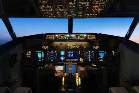 BA Flight Simulations - 30 minute flight simulation experience or 60 minutes - Save 51%