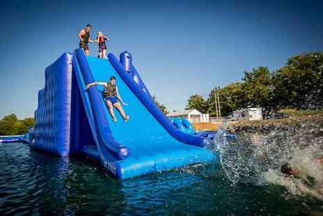 Southlake Aqua Park - Entry and wetsuit hire for one person - Save 29%