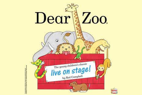 Norwell Lapley Productions - Adult or child ticket to see Dear Zoo Live or family ticket for four people - Save 26%