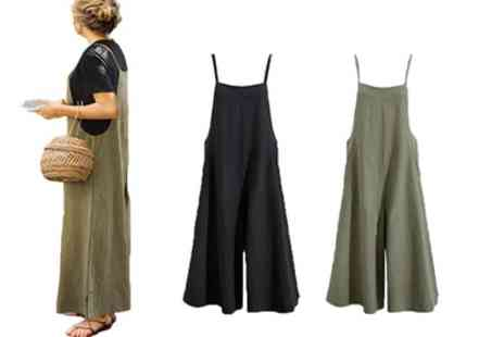 Groupon Goods Global GmbH - One or Two Wide Leg Jumpsuits - Save 0%