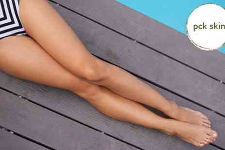 PCK Skin - Soprano ICE Laser Hair Removal Six sessions on a Choice of Area - Save 91%