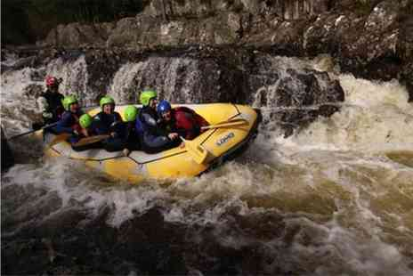 Splash White Water Rafting - White Water Rafting Half Day Trip on the River Tummel - Save 0%