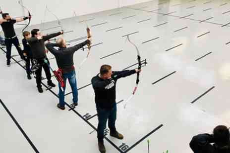 Indoor Archery - One Hour Indoor Archery Session for Up to Four - Save 40%