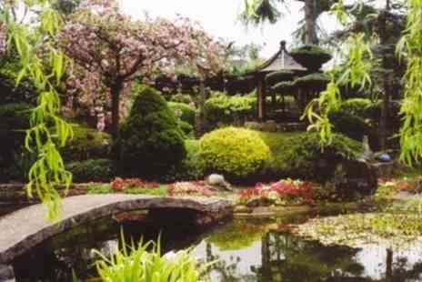 Pure Land Meditation Centre - Admission to Japanese Meditation Garden and Crystal Garden for One, Two or Four - Save 36%