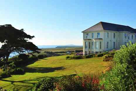 Polurrian Bay Hotel - Scenic Cornwall spa day with massage & afternoon tea - Save 43%