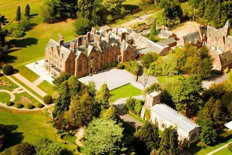 Wroxall Abbey Estate - Four Star Overnight Warwickshire stay for two people with breakfast and spa access - Save 0%
