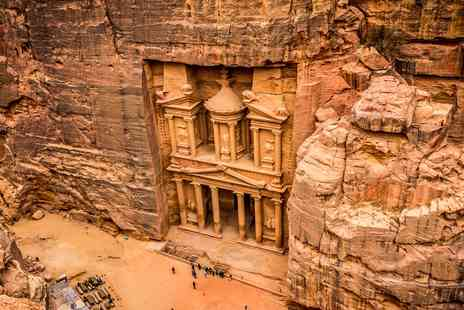 Going Luxury - Four star Jordan holiday with Petra tour - Save 0%