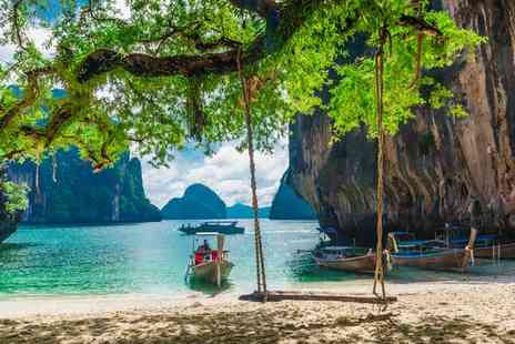 The Small Krabi - Four Star Relaxed Island Escape at Asian Chic Hotel for two - Save 80%