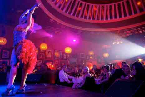 Proud Cabaret - Three course dining, a glass of Prosecco, an award winning cabaret show and after party entry - Save 41%