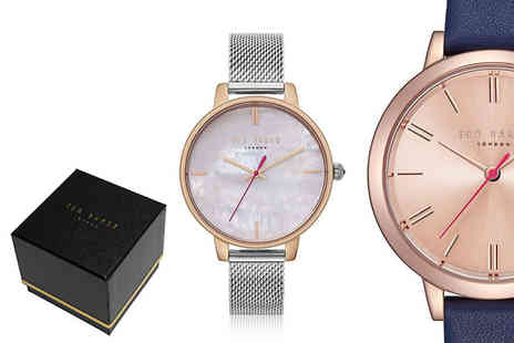 Brand Arena - Ladies Ted Baker watch get a free bracelet - Save 73%