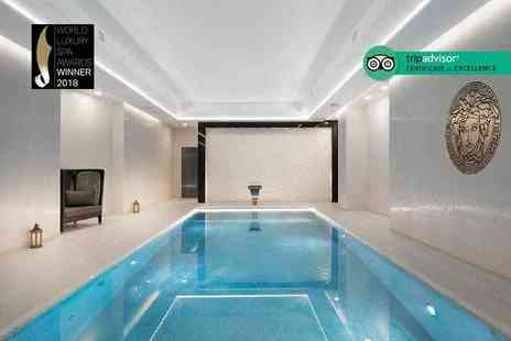 M by Montcalm - Three hour spa experience for one person with a glass of bubbly, refreshments and a £10 treatment voucher - Save 28%