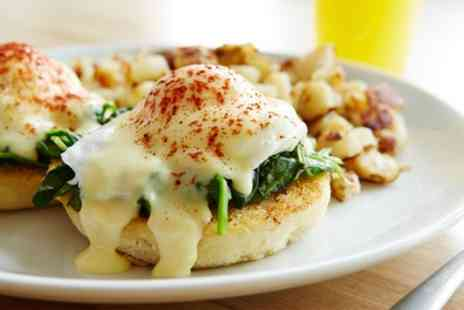 On Time Cafe - All Day Breakfast or Lunch with Drink for Two or Four - Save 30%