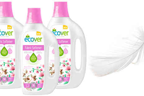 Spire Tech - Ecover 1.5L Apple Blossom And Almond Fabric Softener Choose 1, 2 or 3 - Save 44%