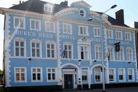 The Dukes Head Hotel - Overnight retreat for two people with breakfast, cream tea and a two course dinner each - Save 44%