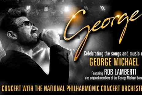 George - Ticket Rob Lambertis Tribute to George Michael from 24th April and 11th May - Save 40%