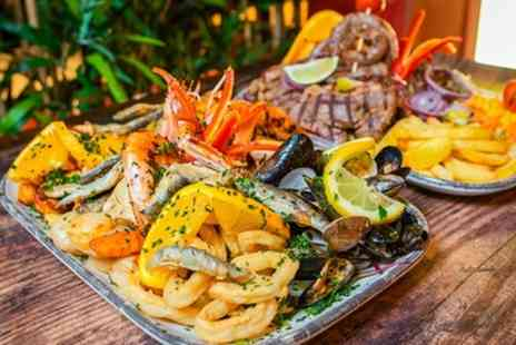 Boteco Do Brasil - Brazilian Mix Grill or Seafood Platter to Share and Wine for Two or Four - Save 34%