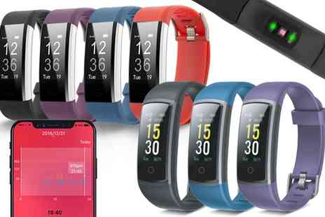 Groupon Goods Global GmbH - Aquarius AQ125 or AQ126 Touch Screen Fitness Tracker with Hrm - Save 39%