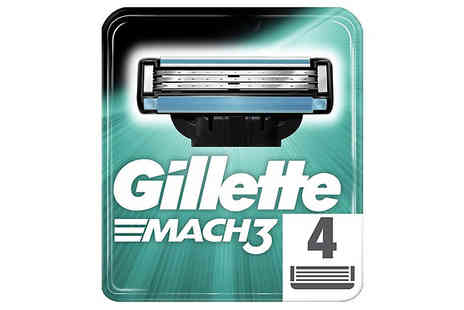Spire Tech - Gillette Blades With Fusion, Mach3 And Venus Choose 4, 8 or 16 Pack - Save 65%