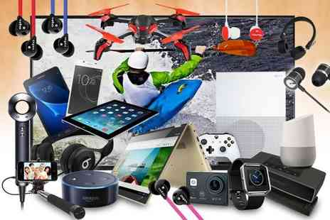 Brand Arena - Mystery electronics deal Choose Samsung, Sony, Bose, Veho, Apple, Defunc and more - Save 0%