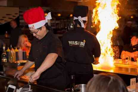 Wasabi Teppan Yaki Stockton Heath - Six Course Teppanyaki Set Menu Meal for Two or Four - Save 40%