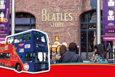 Liverpool City Sights - Live Guided City and Beatles Tour and Beatles Story Exhibition Entry - Save 0%