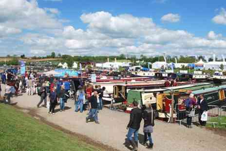 Crick Boat Show - One ticket from 27th May - Save 50%
