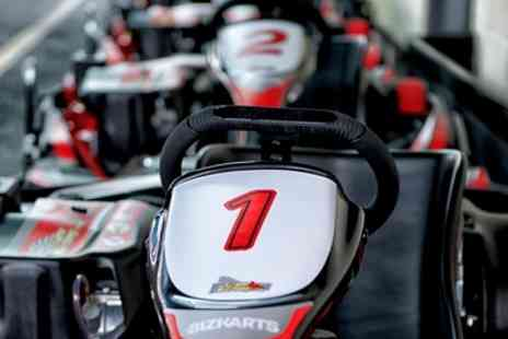 Team Karting - 20 or 40 Minute Go Karting Experience - Save 32%