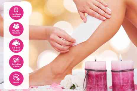 International Open Academy - Online guide to waxing And hair removal course - Save 81%