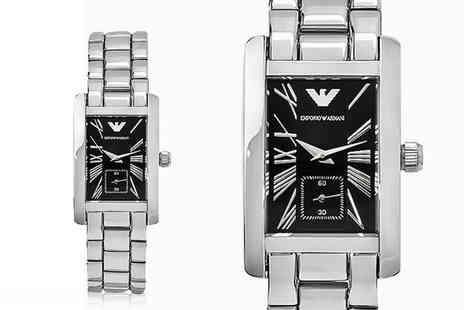 Brand Arena - Ladies Emporio Armani AR0157 stainless steel watch - Save 74%